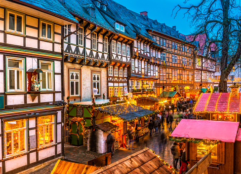 Advent in the Old Town of Goslar