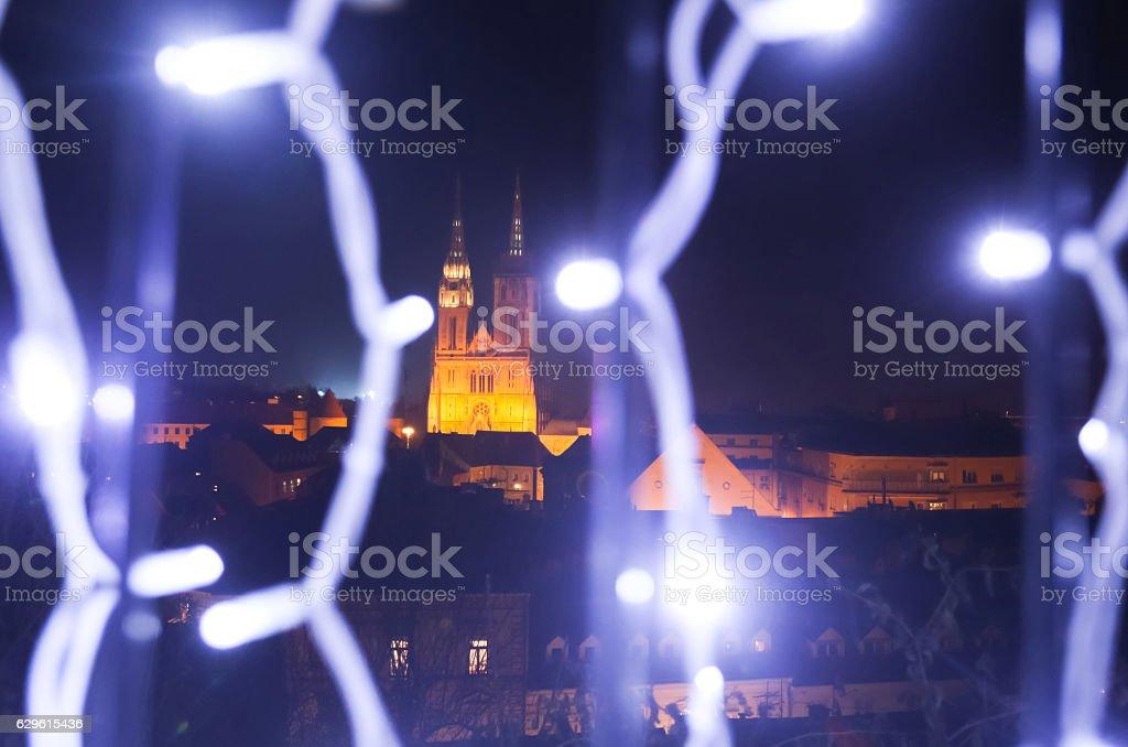 Advent in Zagreb, Croatia 2016 stock photo
