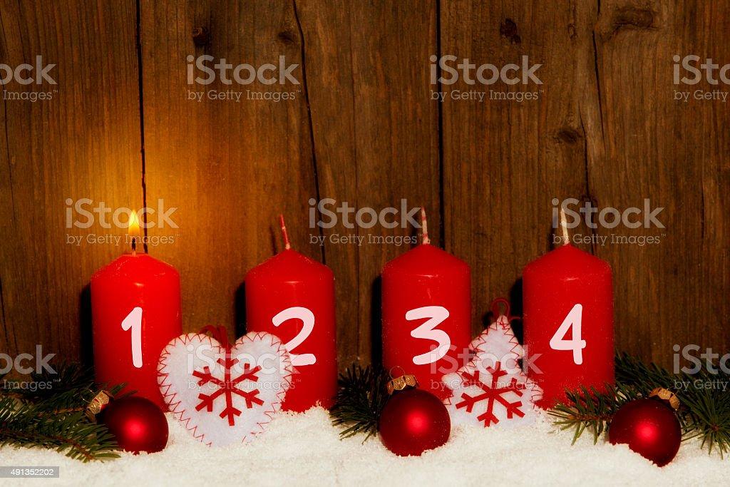 1. Advent stock photo