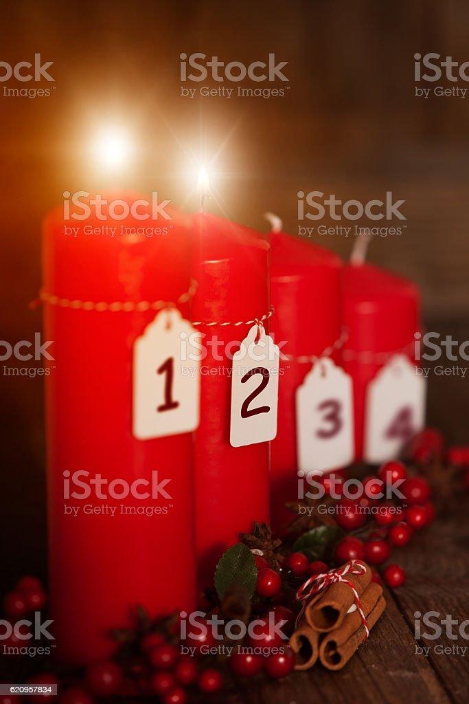 2. Advent stock photo