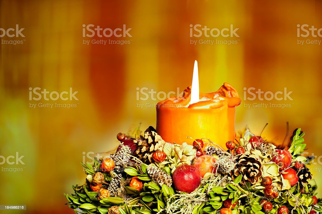 Advent season royalty-free stock photo