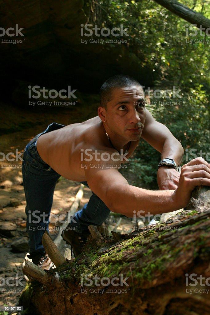 Adventure Guy royalty-free stock photo
