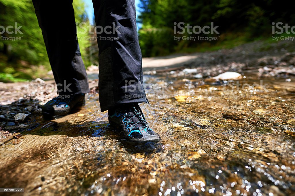 adventure in nature stock photo