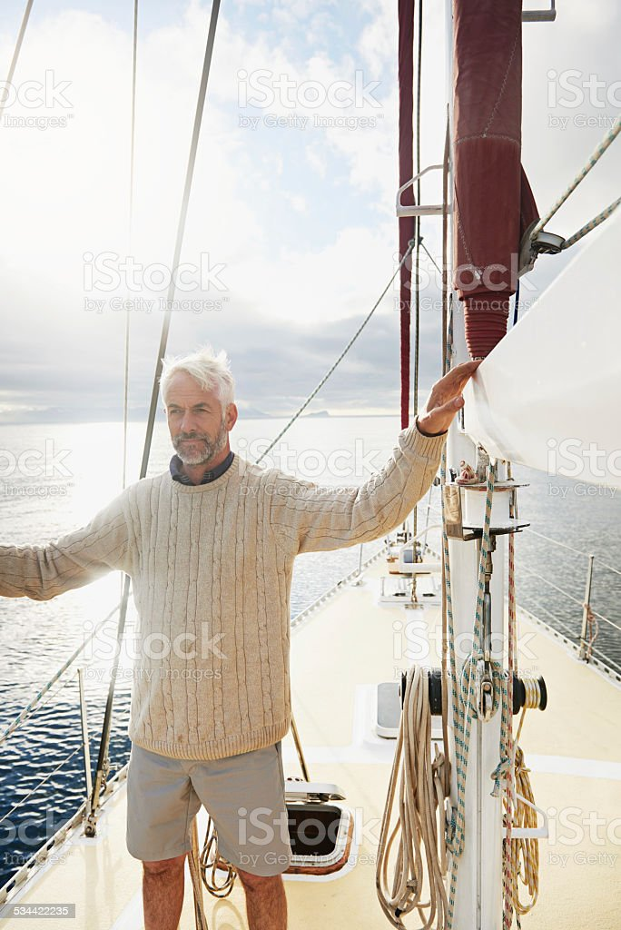 Adventure is out there stock photo