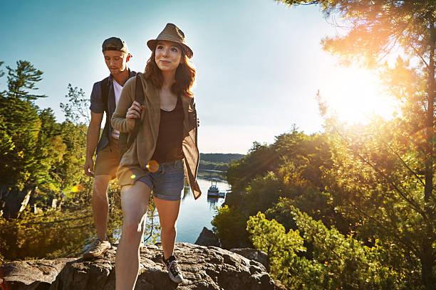 Adventure is worthwhile in itself - foto de stock