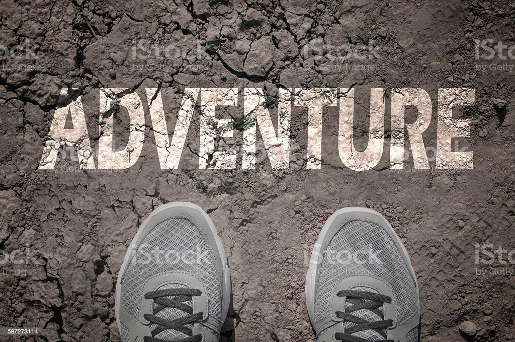 Adventure photo libre de droits