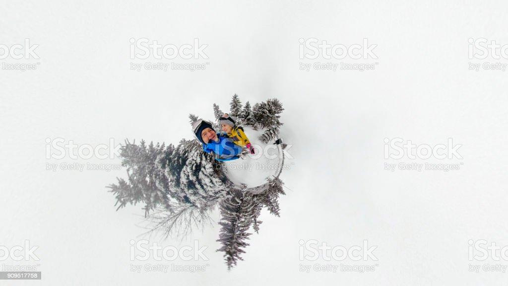 Adventure selfie stock photo