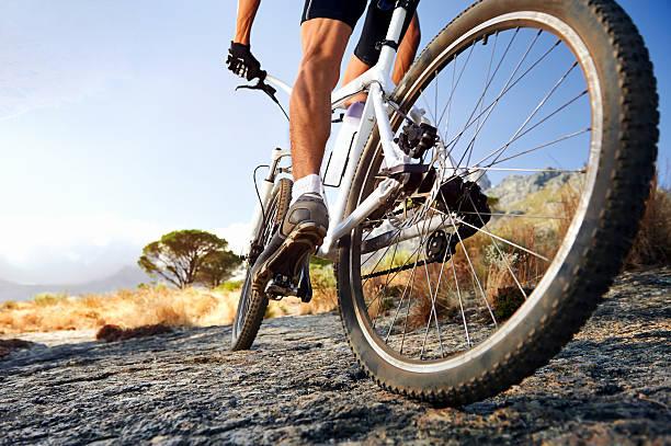 adventure sport Extreme mountain bike sport athlete man riding outdoors lifestyle trail mountain biking stock pictures, royalty-free photos & images