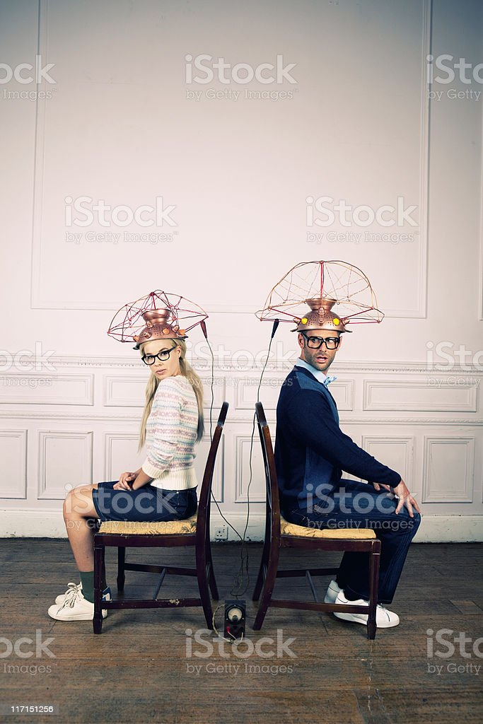 Adventures in Mind Reading stock photo