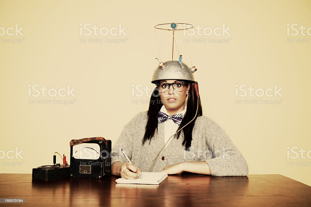 Adventures in Mind Reading royalty-free stock photo