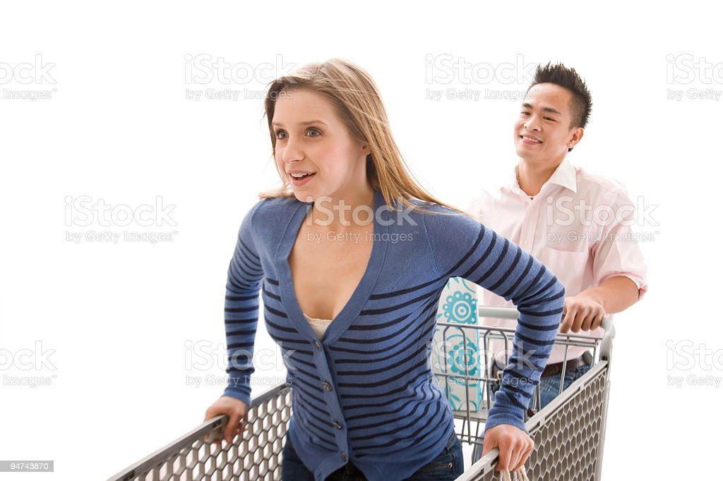 Adventures in Shopping stock photo