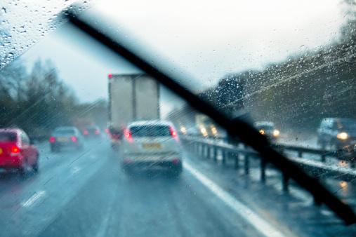 Widrige Driving Geschäftsbedingungen Stockfoto und mehr Bilder von Auto