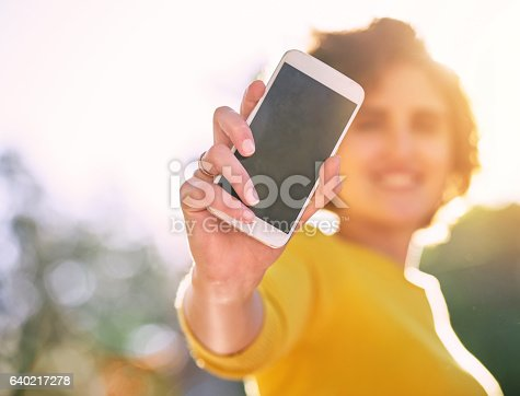 istock Advertise your new app here! 640217278