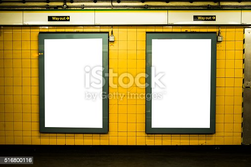 istock Advertisement panels 516800116