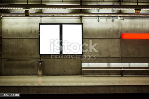 istock Advertisement panels 609790630