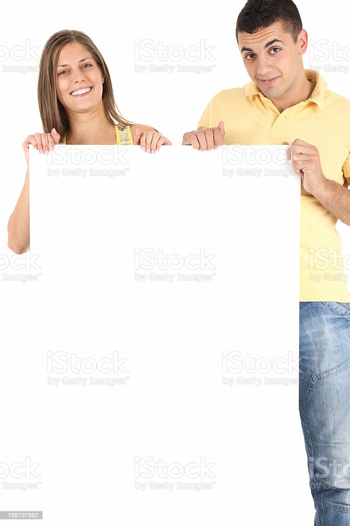 Advertisement royalty-free stock photo