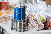 istock Advertisement to give to local food bank 962641594