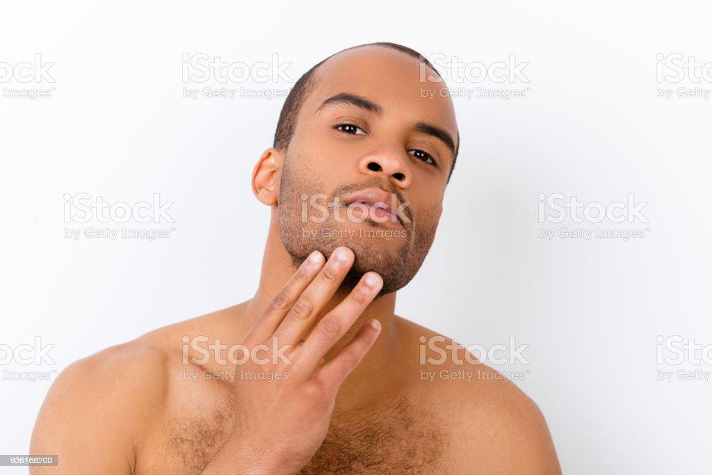 nackt beim friseur