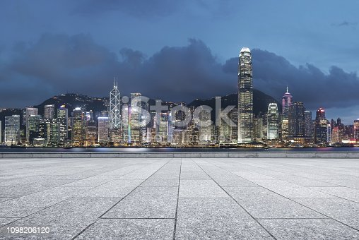 istock Advertising backplate, Hong Kong 1098206120