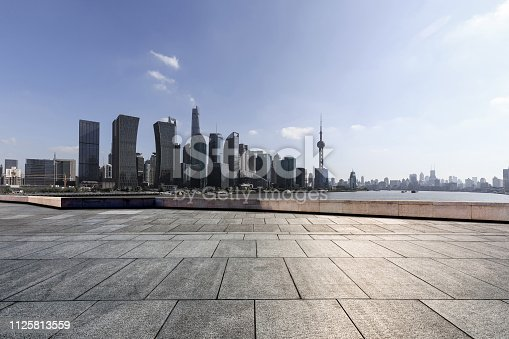 istock Advertising backplate, Shanghai 1125813559