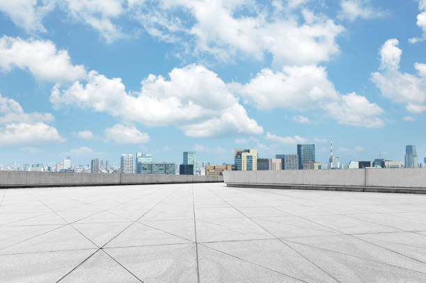 広告バック プレート、東京 - 広場 ストックフォトと画像