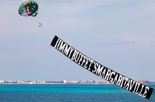 Advertising Banner In Cancun Mexico Stock Photo Download Image Now Istock