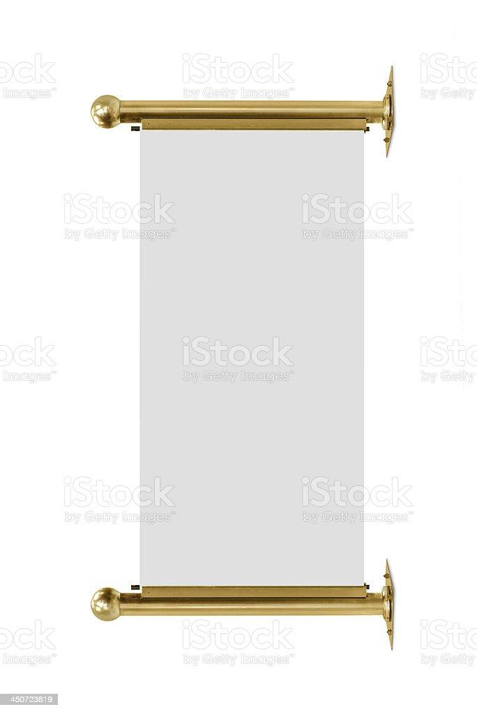 advertising banner royalty-free stock photo