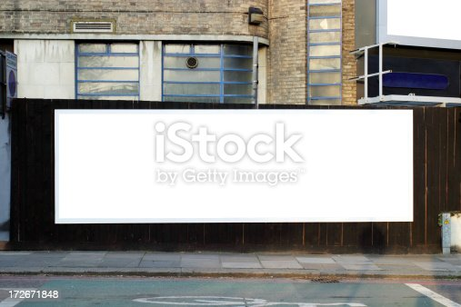 istock Advertising billboard 172671848