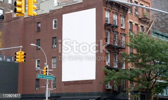 Advertising Billboard Space in Soho, Manhattan NY