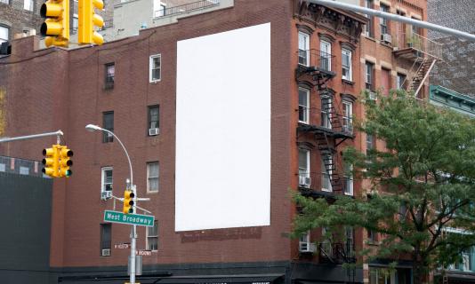 Advertising Billboard Space in Soho, Manhattan NY