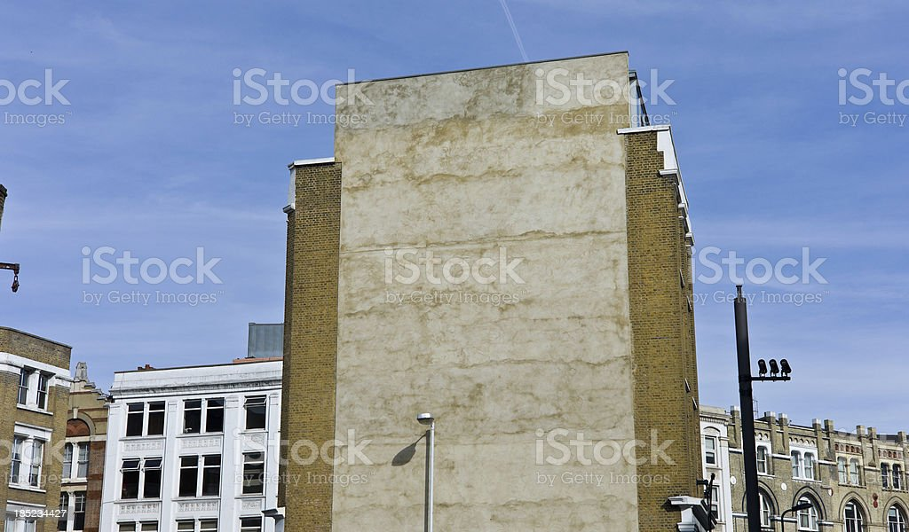 Advertising Billboard/Street Art Space in London England stock photo