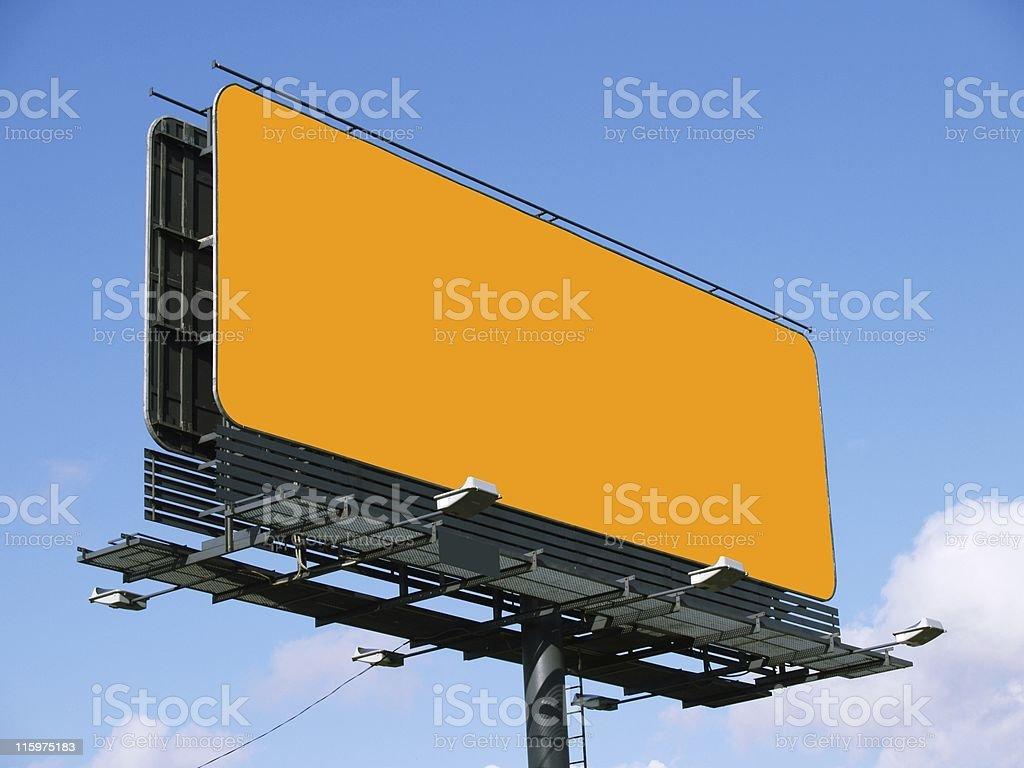 Advertising board royalty-free stock photo