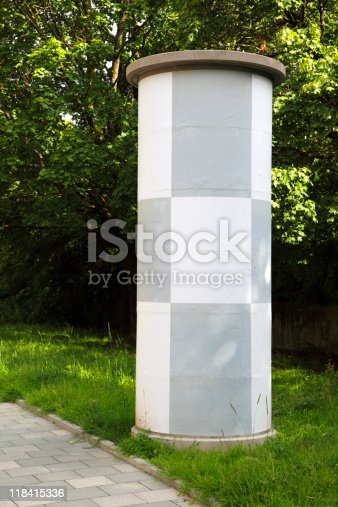 istock advertising column - place our advertisement 118415336