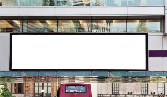 advertising digital billboard blank space in london england RELEVANT LIGHT-BOXES: