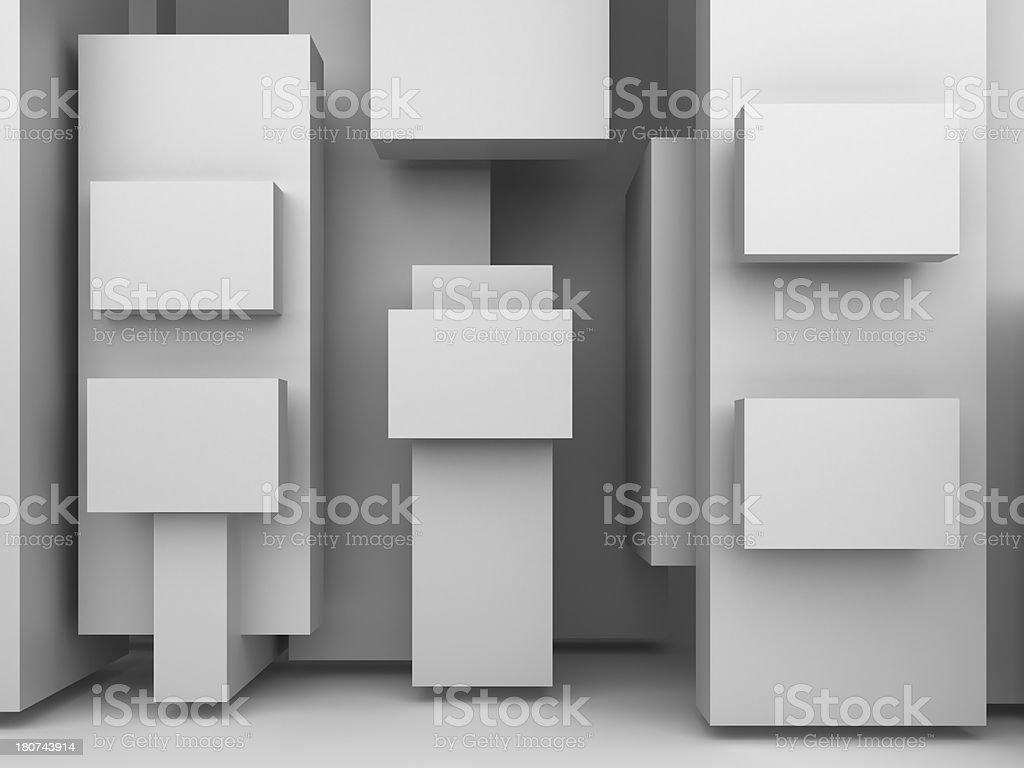 advertising panels royalty-free stock photo