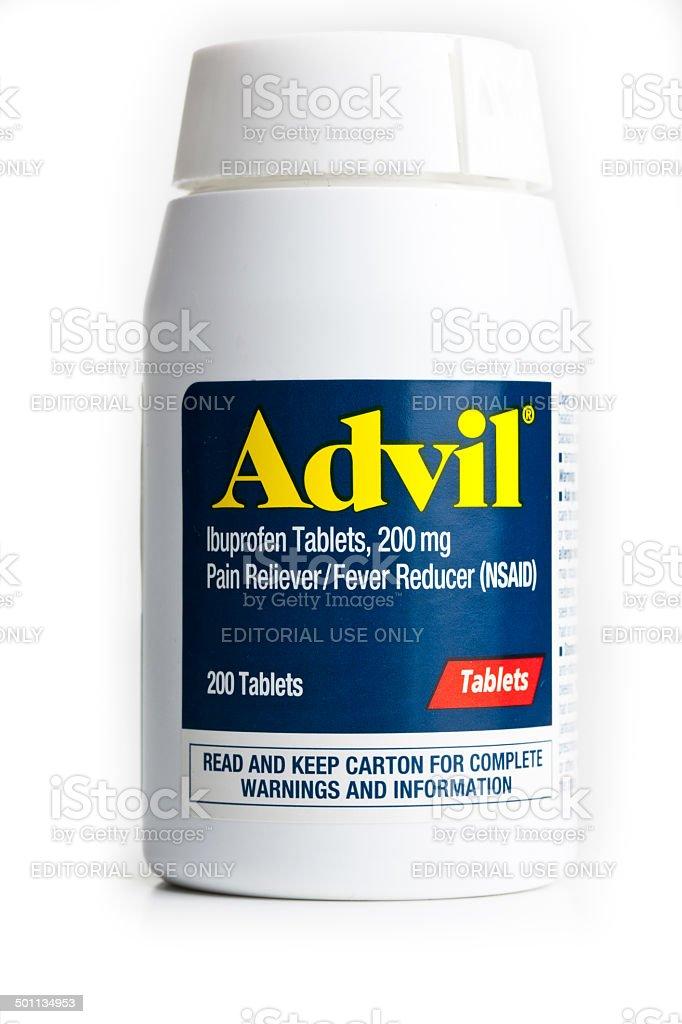 Advil royalty-free stock photo