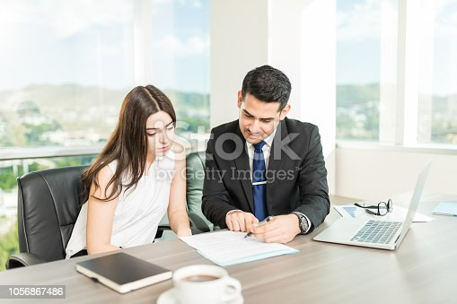 863128060istockphoto Adviser Providing Best Service To Win Client's Trust 1056867486