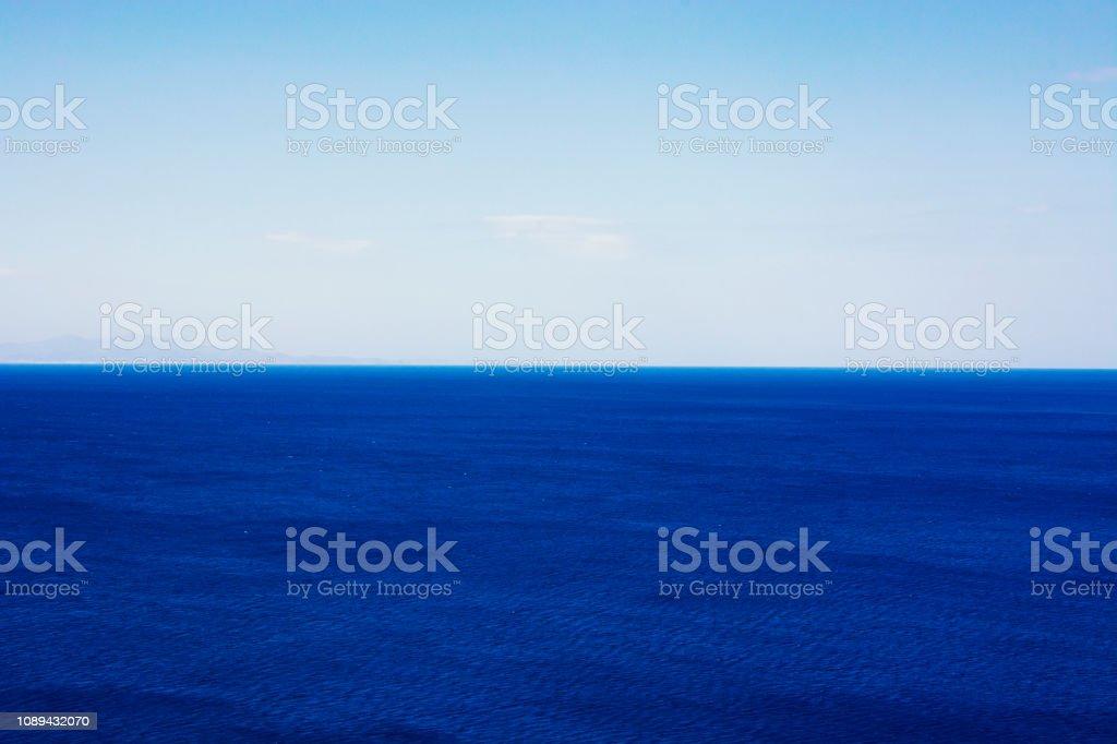 Aegean Sea Horizon stock photo