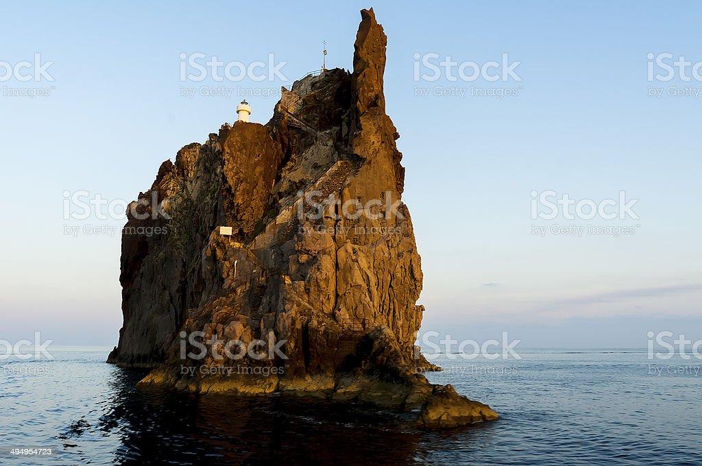 Aeolian Island stock photo