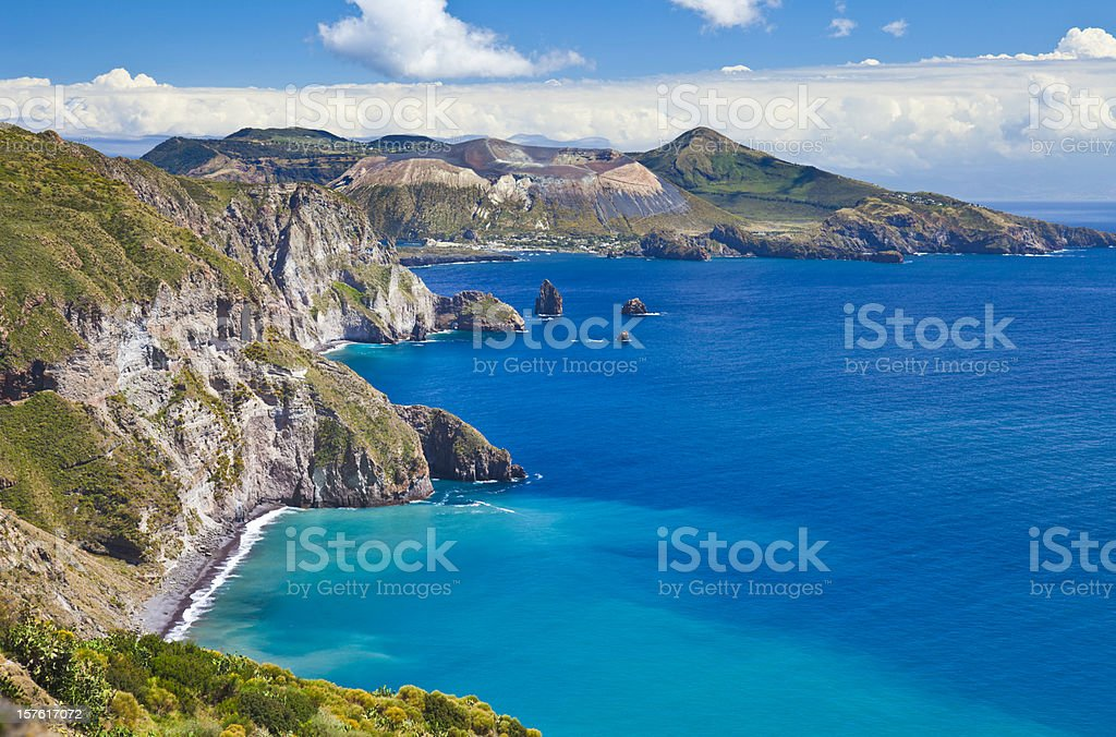 Aeolian Islands royalty-free stock photo