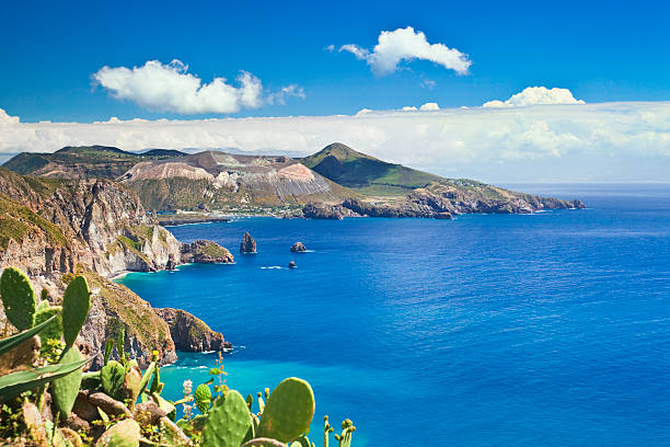 Aeolian Islands  sicily stock pictures, royalty-free photos & images