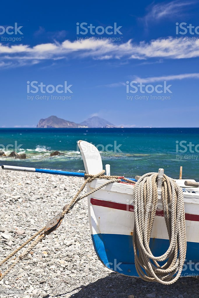 Aeolian Islands royalty-free stock photo