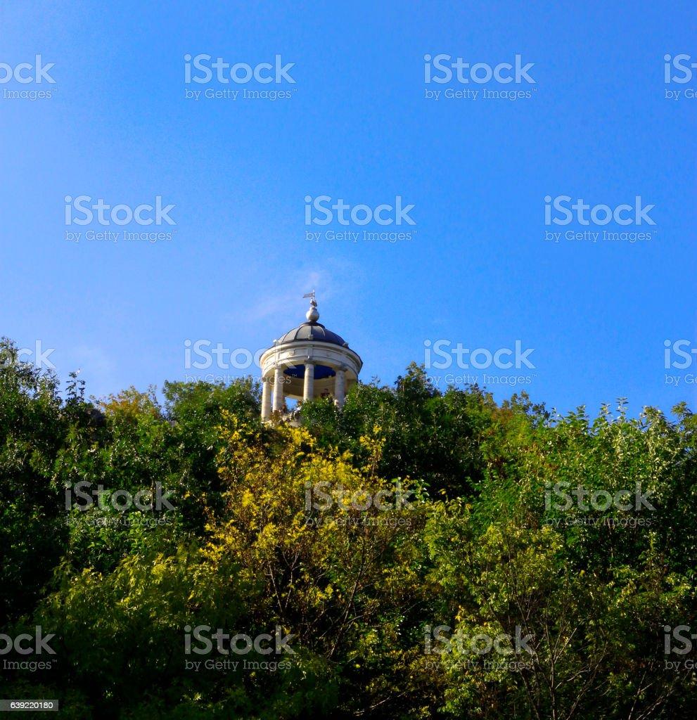 Aeolus Harp In Summertime. Pyatigorsk Landmarks And Monuments stock photo