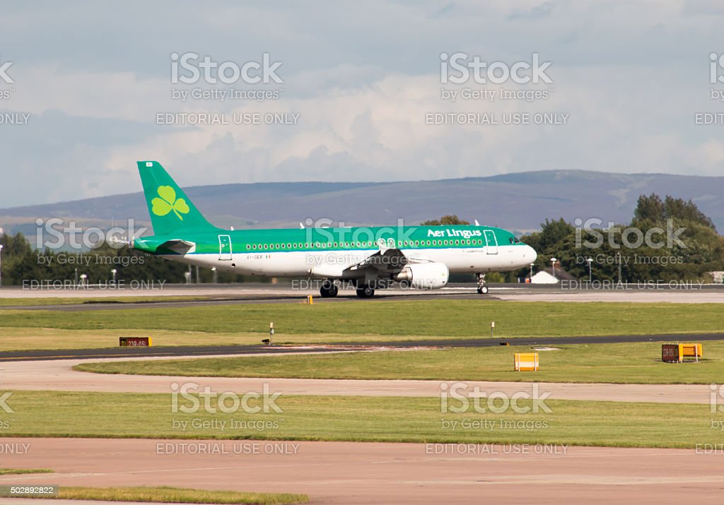 Aer Lingus A320 stock photo