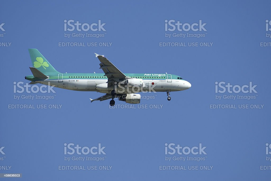Aer Lingus, Airbus A320 stock photo