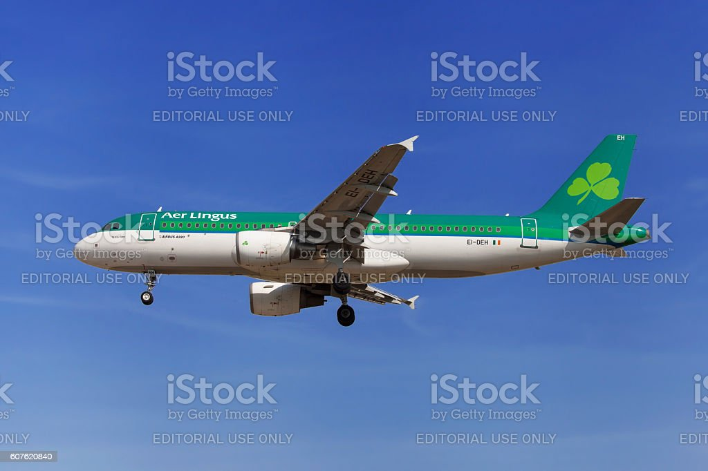 Aer Lingus Airbus A320 stock photo