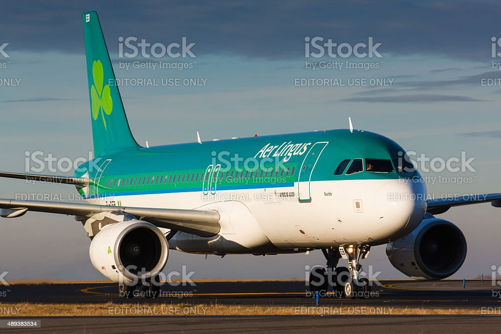 A320 Aer Lingus stock photo