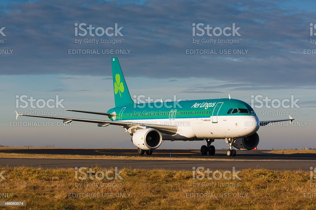 A20 Aer Lingus stock photo
