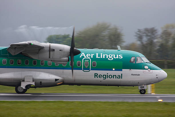 Aer Lingus Regional ATR 42 stock photo
