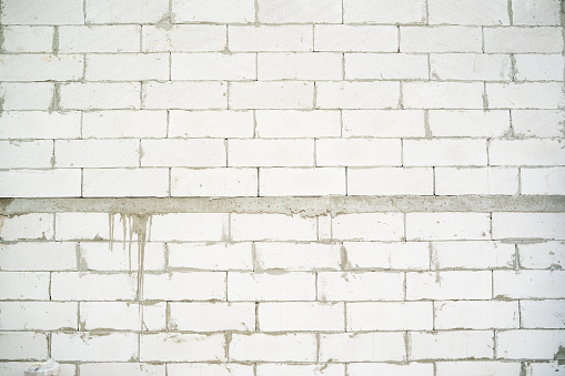 istock Aerated brick wall. 1226113509